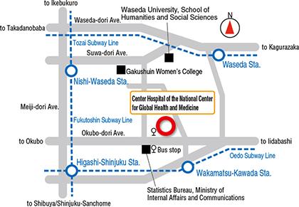 こども診療室地図